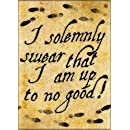 "Ata-Boy Harry Potter ""…Up to no Good"" 2.5"" x 3.5"" Magnet for Refrigerators and Lockers"