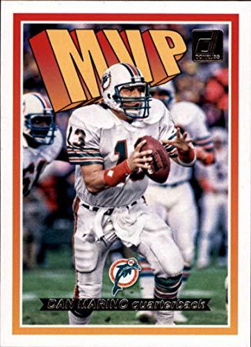 2018 Donruss MVP Football Card #21 Dan Marino NM-MT Miami Dolphins Official NFL Trading Card