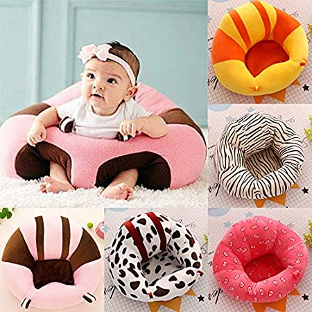 Kids Baby Support Seat Sofa Plush Soft Baby Learning To Sit Chair Keep Sitting Posture Comfortable For 0-12 Months Baby