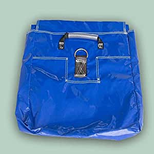TentandTable Vinyl Sand Bag, Support & Anchor for Inflatables, Bounce Houses and Tents, 50-Pound Capacity, 21-Inch by 21-Inch (Blue, 20-Pack)