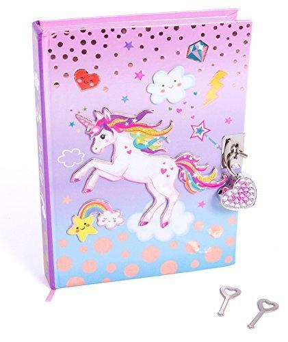 Hot Focus Unicorn Secret Diary with Lock - 7