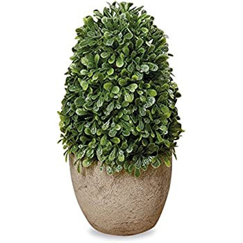Amazon Com Mygift Mini Tabletop Faux Potted Artificial