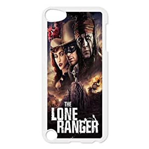 LSQDIY(R) The Lone Ranger iPod Touch 5 Hard Back Case, Personalized iPod Touch 5 Case The Lone Ranger