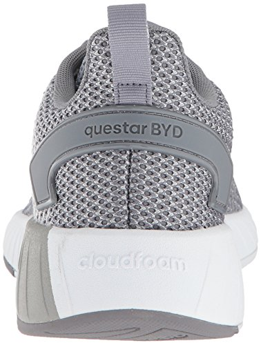 adidas Men's Questar BYD Running Shoe, Grey/Cloud White, 6.5 M US by adidas (Image #2)