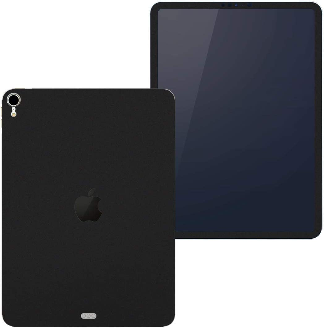 igsticker Skin for Apple iPad Pro 11″ (2018) Ultra Thin Premium Protective Body Stickers (iPad is Not Included) 009016 Simple Plain Black