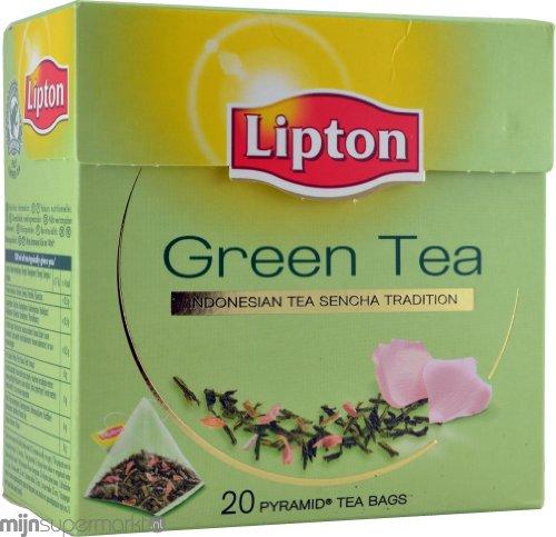 Lipton Green Tea - Indonesian Sencha - Premium Pyramid Tea ...
