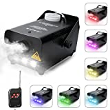 Virhuck 500W Portable RC Fog Machine with Wireless Remote Control, Professional Smoke Machine
