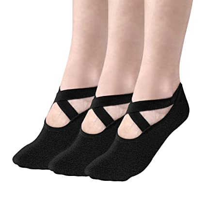 Amazon.com : Tomight Yoga Socks for Women, Non Slip Socks ...