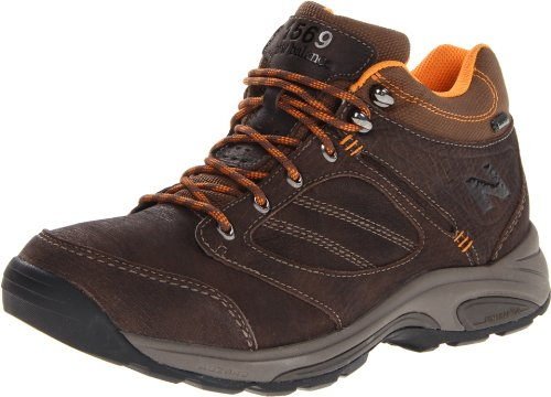 Country Walking Shoe - New Balance Men's MW1569 Country Walking Boot,Brown/Orange,8.5 2E US