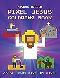 Pixel Jesus - Coloring Book