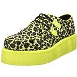 3c84938ed3a12 Galleon - Pleaser V-CREEPER-507UV Mens Shoes, Cheetah Fur-UV Lime ...