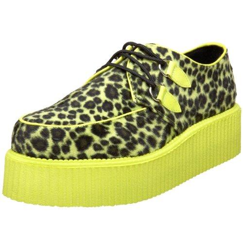 2 Man Zebra Costume - 2 Inch Mens Platform Shoe Zebra Cheetah Veggie Creeper Shoes Size: 6 Colors: ...