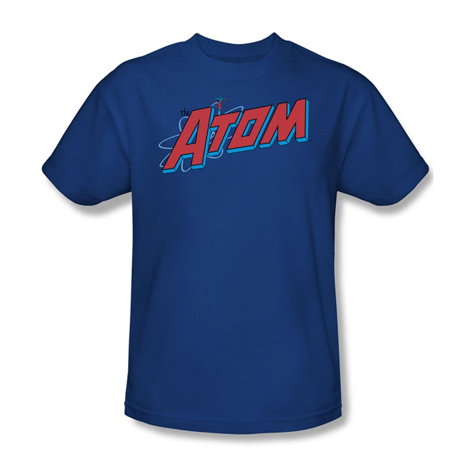 Dc Comics - The Atom Adult T-Shirt In Royal Blue