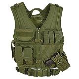 VooDoo Tactical 20-8112004330 Men's Msp-06 Entry Assault Vest, Large-XX-Large, Olive Drab