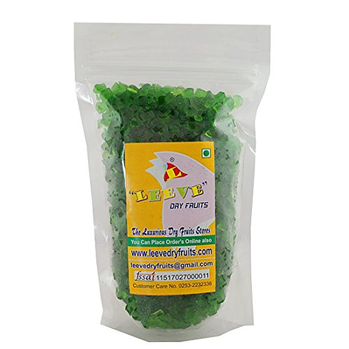 Leeve Dry Fruits Green Tutti Frutti - 800 Gms by Leeve Dry Fruits