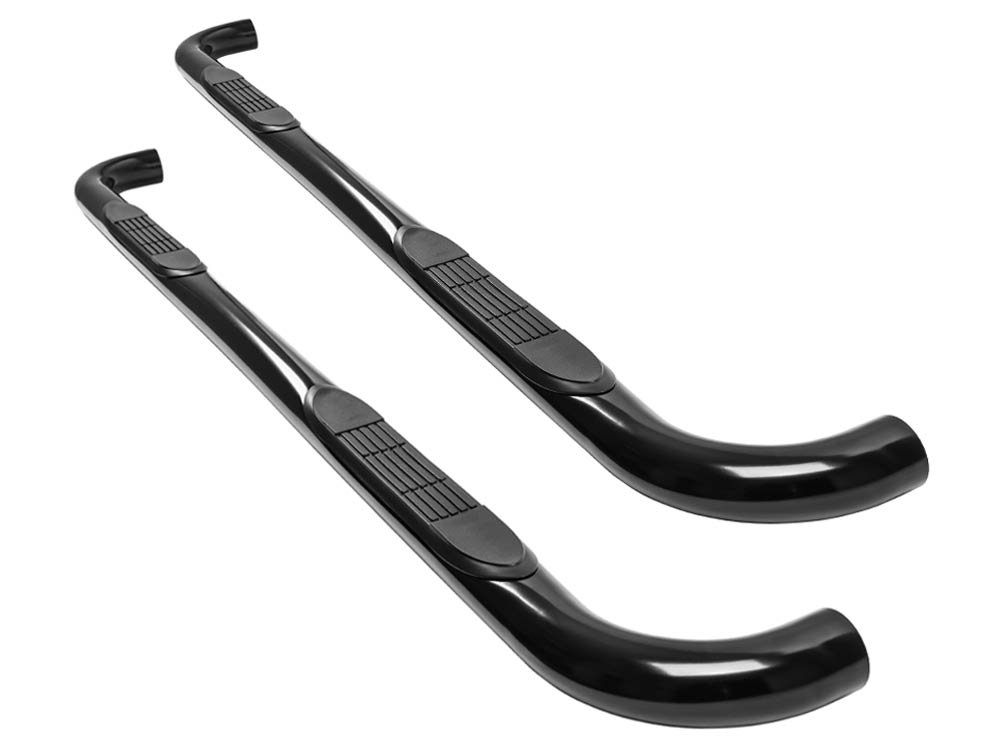 Ionic 3' Black (fits) 1998-2005 Mercedes ML Only Nerf Bars Side Steps (290200) Ionic Automotive Ionic 3 Nerf Bars