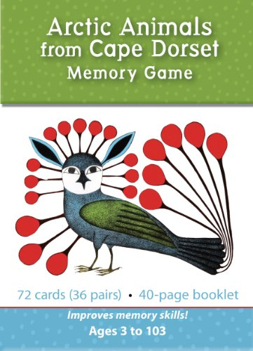 Arctic Animals from Cape Dorset: Memory Game