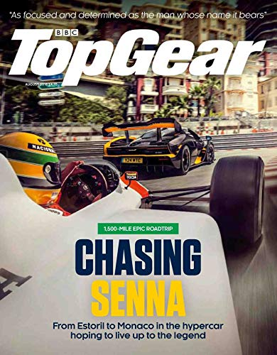 BBC Top Gear Magazine (August, 2018) Chasing Senna ()