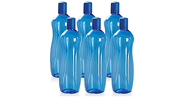 free shipping world Set of 6 Orange Details about  /Cello Sipwell PET Bottle Set 1 Litre