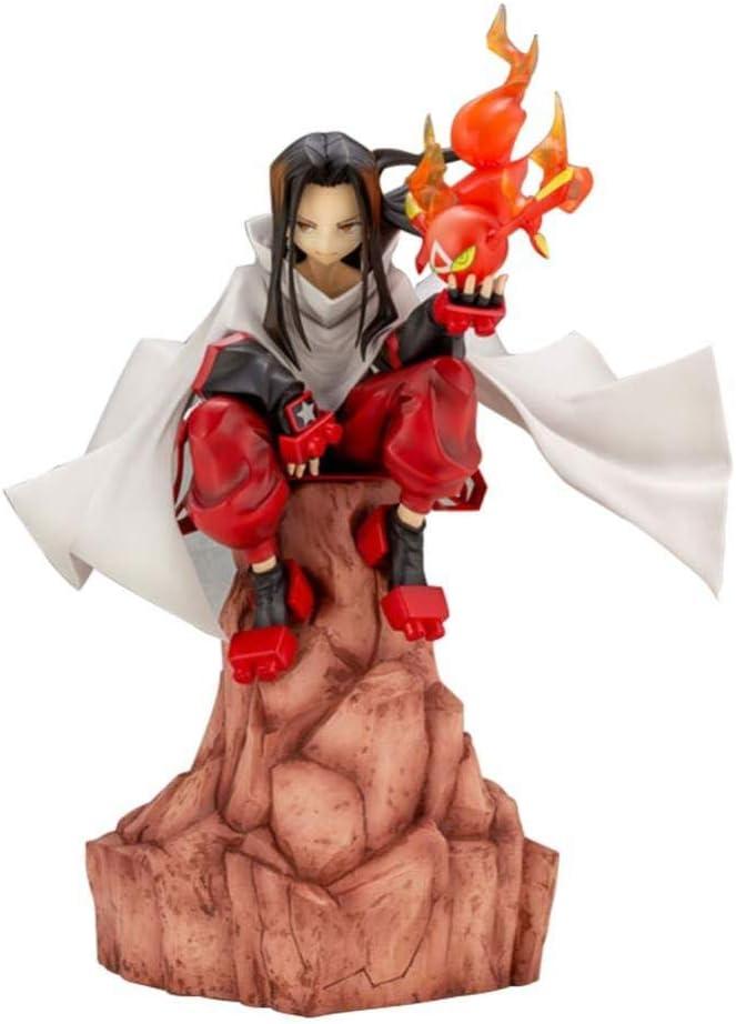 XFHJDM-WJ Modelo HAO A Figura Shaman King Figura de acción Figura de Vinilo para el hogar Decoración del hogar Colección de Ventiladores 20 cm-0127