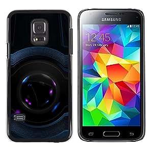 Paccase / Dura PC Caso Funda Carcasa de Protección para - Design Architecture Space Art Modern - Samsung Galaxy S5 Mini, SM-G800, NOT S5 REGULAR!
