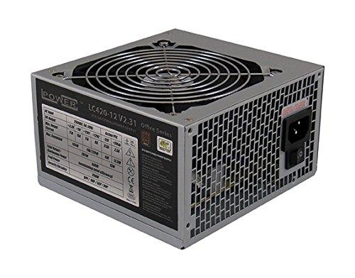 3 opinioni per LC-Power LC420-12 PSU, 420W, V2.31, Nero
