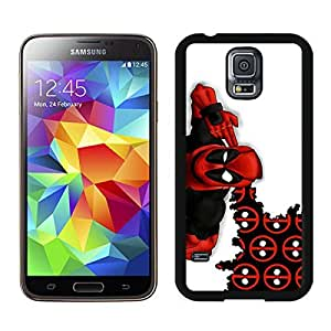 Samsung Galaxy S5 i9600 Case,Deadpool 3 Black For Samsung Galaxy S5 i9600 Case WANGJING JINDA