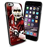NFL Arizona Cardinal 13 Warner , Cool iPhone 6 Smartphone Case Cover Collector iphone TPU Rubber Case Black