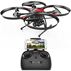DROCON U818PLUS WIFI FPV Drone With Wide-Angle HD 2MP Camera