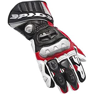 Spidi Mens Red Race Vent Leather Gloves - XL
