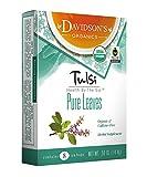 Davidson's Tea Tulsi Pure Leaves, 8-Count Tea Bags, .5 Oz, (Pack of 12)
