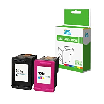 InkJello - Cartucho de tinta remanufacturado para HP Deskjet 1000 1010 1050 1050A All-in-One 1510 1512 1514 2050 2050A 2050s 2510 2512 2540 2542 2544 ...