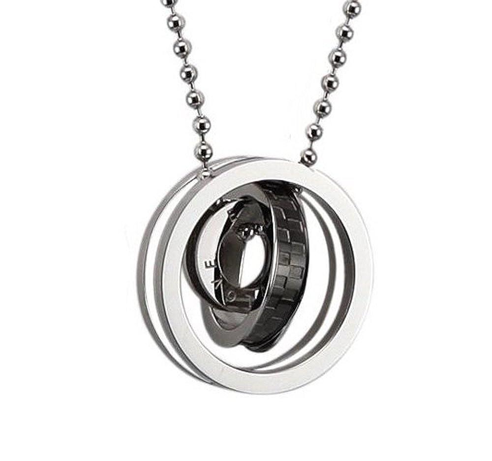 Coolrings Men Necklace Pendant Eternal Love Interlocking Design 24