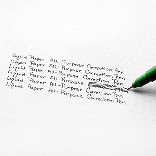 Paper Mate Liquid Paper Correction Pen, 7 ml, 2 Count by Liquid Paper (Image #2)