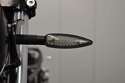 Mega Luminoso Moto Frecce LED Coppia Forte Solido Resistente per Trike Scooter Motocicletta Quad