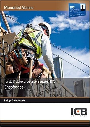 Tarjeta Profesional de la Construcción TPC . Encofrados: Amazon.es ...