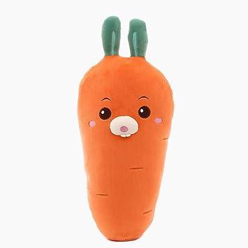 YEARYOWN Zanahoria, Juguete de Peluche, Verduras, Mano ...