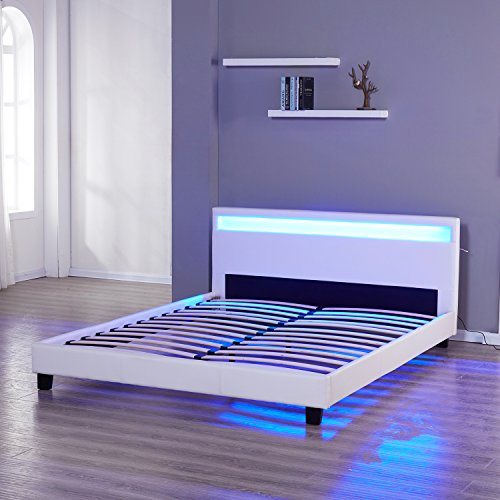 Headboard With Led Lights