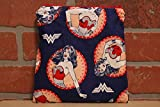 Wonder Woman, Snack Bag/Sandwich Bag, Reusable Food Storage