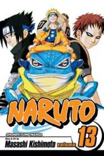 Naruto, Vol. 13: The Chunin Exam, - Manga Naruto Kakashi