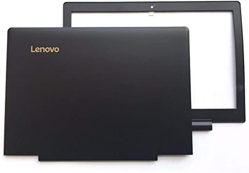 Hinges BLK New For Lenovo Ideapad 700-15 700-15ISK Top Case Lcd Back Cover Lid