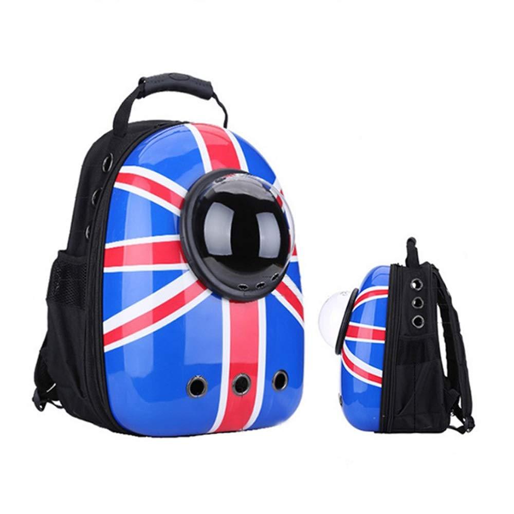 1 433022cm 1 433022cm JOYIYUAN Cat Bag Pet Bag Out Portable Backpack Breathable Space Bag Pet Backpack Cat Cage (color   1, Size   43  30  22cm)