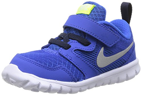 New Nike Baby Boy's Flex Experience 3 Athletic Shoes Hyper Cobalt/Silver 5