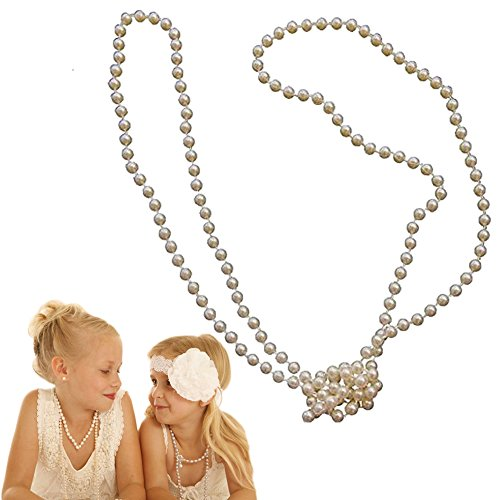 Dazzling Toys Faux Kids Girls Pearl Necklace |