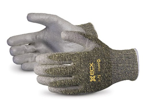 Superior S13CX Emerald CX Kevlar/Stainless Steel String Knit Glove, Work, Cut Resistant, 13 Gauge Thickness, Size 8 (Pack of 1 Pair) by Superior Glove Works B00BHMQHM0