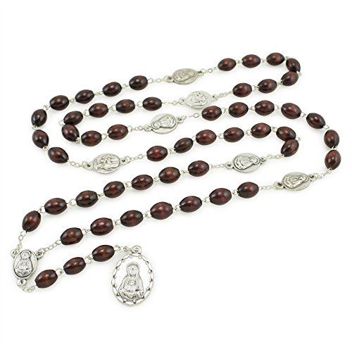 Seven Sorrows Wooden Rosary Chaplet product image