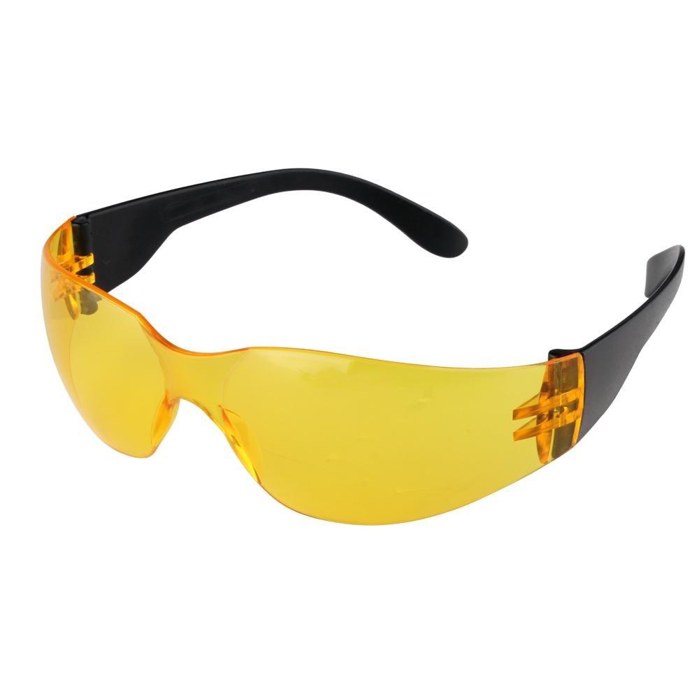 Gafas proteccion de seguridad amarillo transparente deportes CARCHET