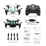Appoi New Arrival JJRC H345 Dual-Aircraft Combination Micro Foldable Drone Quadcopter Set AR Game White Black (As Shown)