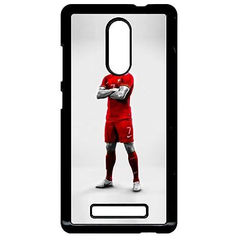 Carcasa Xiaomi Redmi Note 3 Cristiano Ronaldo sobre fondo ...