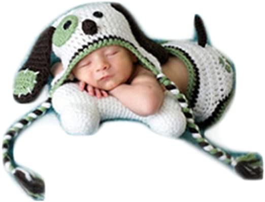 Photography Prop Newborn Baby Boy Girl Photo Shoot Outfits Crochet Knit Clothes